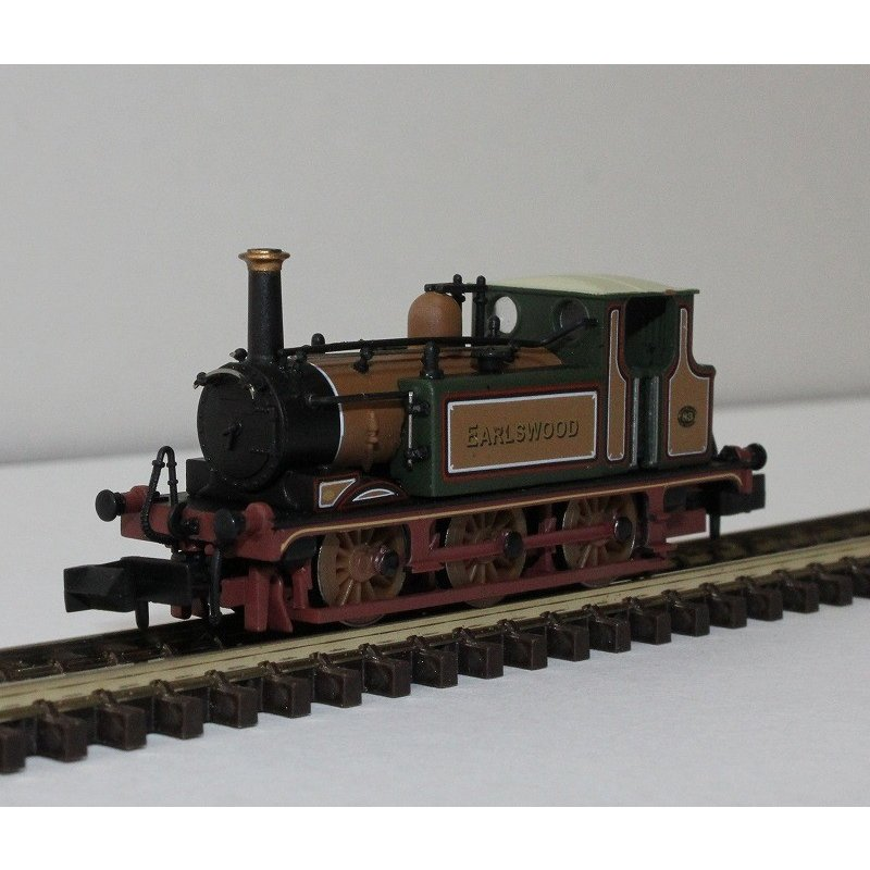DAPOL Nゲージ (9mm) 2S-012-001 Terrier 'Earlswood' #83 Improved Engine 緑