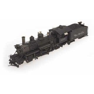 黒stone Models HOn3 (10.5mm) K-27 Mikado 2-8-2 'Mudhen' RGS #455 Rising Sun Herald, Snowplow /DCCサウンド(ウェザリング仕様)