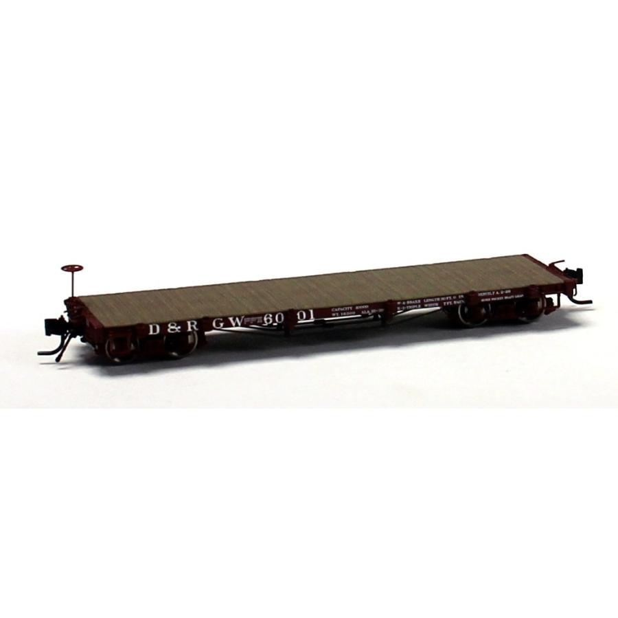 ブラックストーンモデルス B-340314 HOn3 10.5mm 6000 Series 30' Flatcar, D&RGW #6056