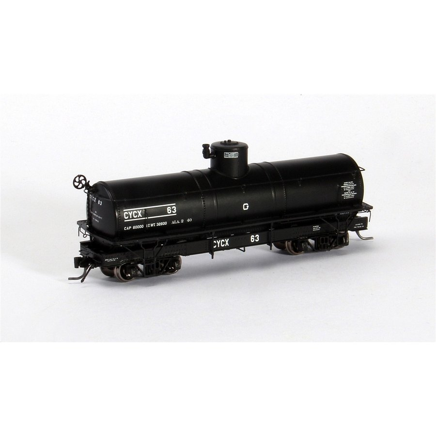 ブラックストーンモデルス B-340611 HOn3 10.5mm Narrow Frame Tank Car, CYCX #64