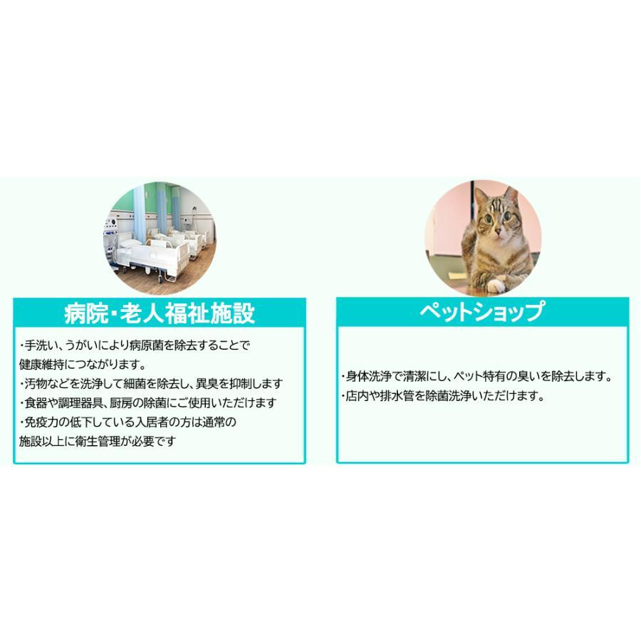 瞬時にオゾン水が生成される 洗浄用 オゾン水生成器 濃度切り替えモデル OH6800-C-XW2-1 残留農薬 除去 除菌効果 鮮度保持 消臭効果 うがい 手洗い narugen 08