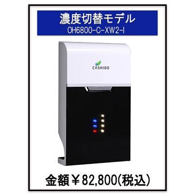瞬時にオゾン水が生成される 洗浄用 オゾン水生成器 濃度切り替えモデル OH6800-C-XW2-1 残留農薬 除去 除菌効果 鮮度保持 消臭効果 うがい 手洗い narugen 10