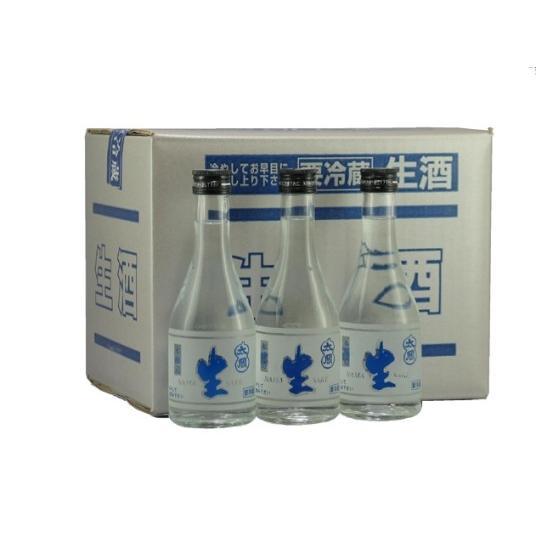 聚楽太閤 本醸造生酒 300ml(12本入り)|narutaki