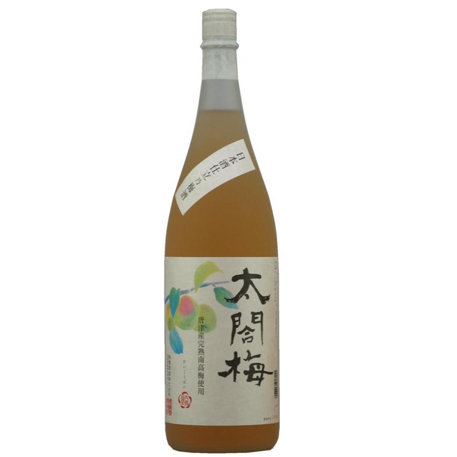 日本酒仕立乃梅酒 太閤梅 1800ml narutaki