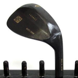 【在庫限り】 品川ウエッジ RAKKAN 落款 ウエッジ 旧溝タイプ 黒染め ミーリングあり 58°完成品 販売 光栄ゴルフ製作所, モデルベースZ f1828920