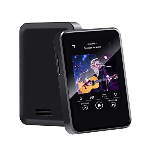 全画面タッチ Bluetooth5.0 セールSALE%OFF Wowcam ミニMP3プレーヤー 2.4インチ コンパクトで軽量 16GB大容量 HIFI高音質 音楽プレ デポー
