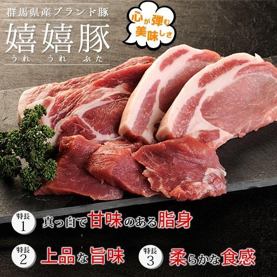 豚肉 ロース肉 薄切りスライス 嬉嬉豚 (100g)(しゃぶしゃぶ すき焼き 鍋 選べるスライス)|naturalporklink|02