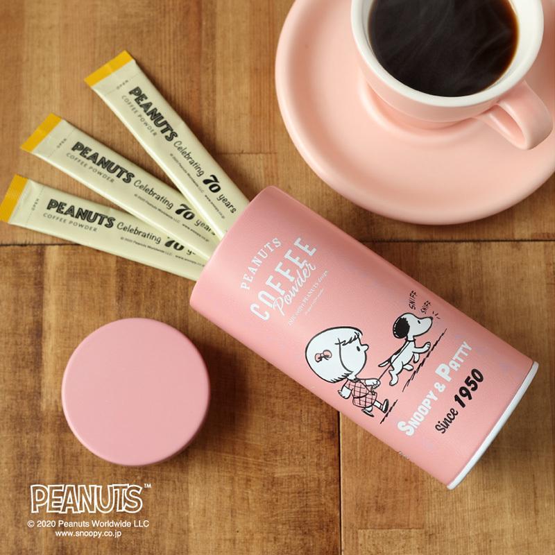 スヌーピー インスタントコーヒー  ギフト スティック スヌーピー INIC coffee イニックコーヒー PEANUTS COFFEE 70周年 コーヒースティック|naturobe|03