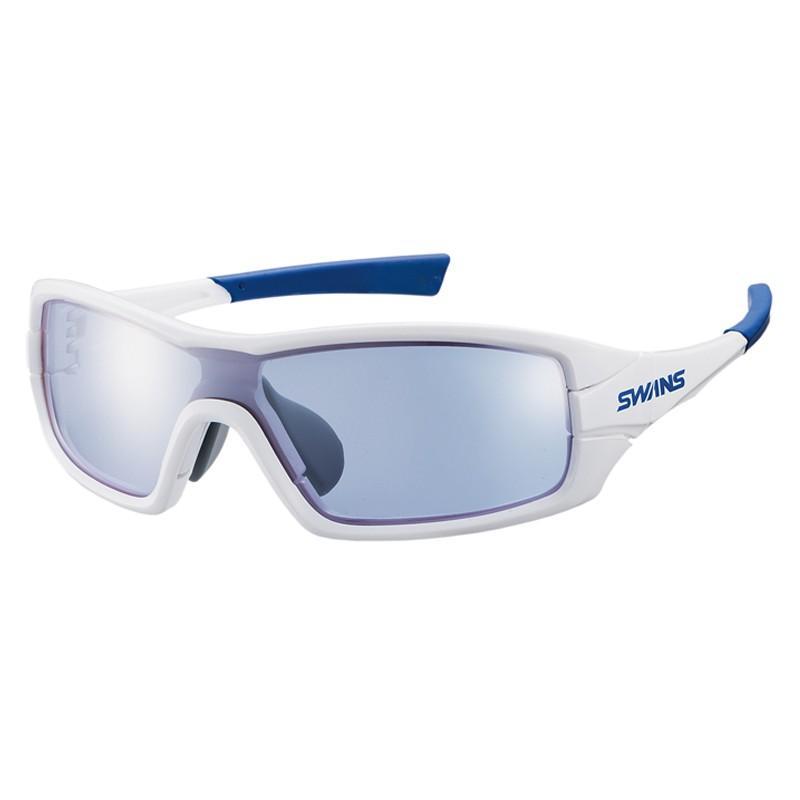 スワンズ STRIX I-0714 ストリックスグラス ミラー PAW シルバーミラー×アイスブルー