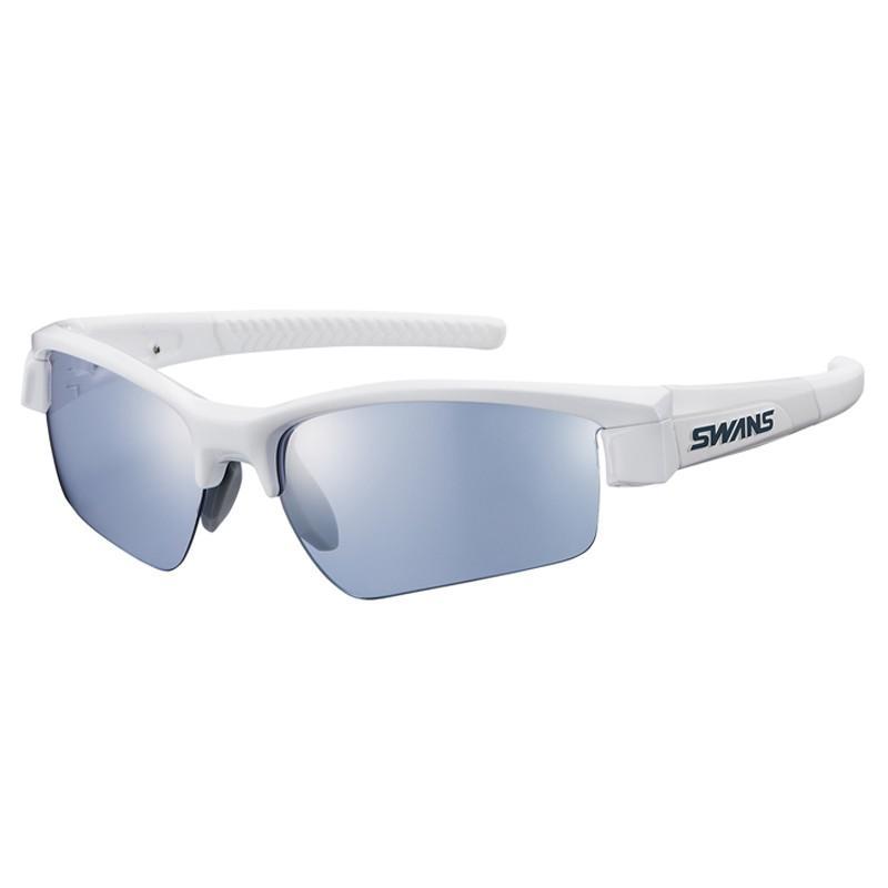 スワンズ LI SIN-0714 ライオン シン ミラー PAW シルバーミラー×アイスブルー