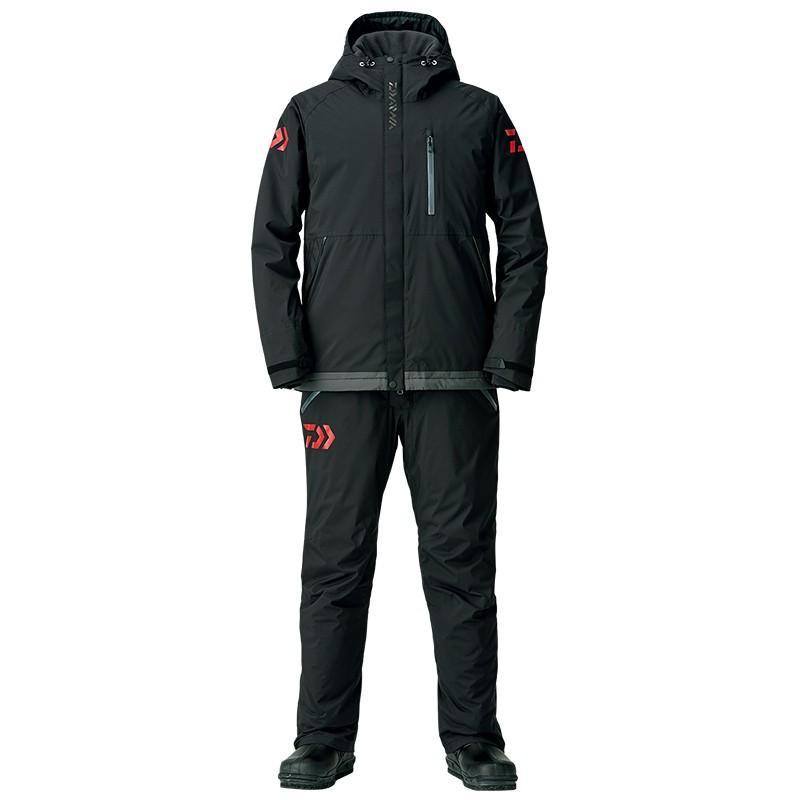 釣り用防寒レインウェア ダイワ DW-3208 レインマックス エクストラハイロフト ウィンタースーツ XL ブラック