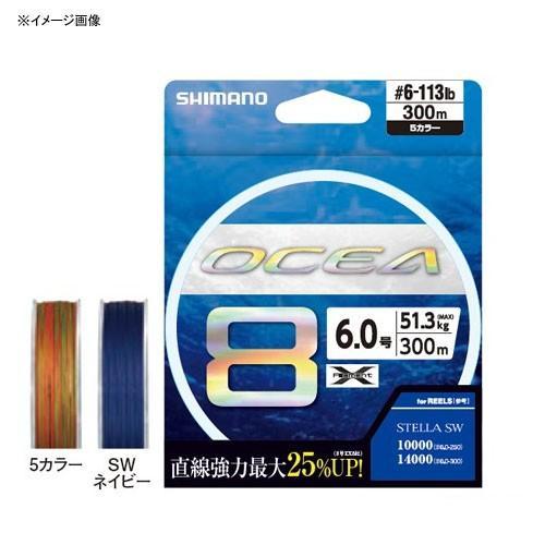 ルアー釣り用PEライン シマノ LD-A91S オシア8 500m 5.0号 5カラー