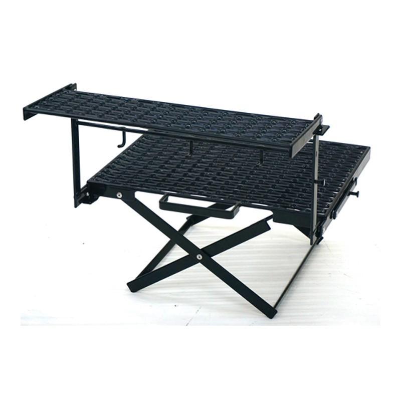 アウトドアスタンド NATURE TONES The Folding Multi Stand II ブラック