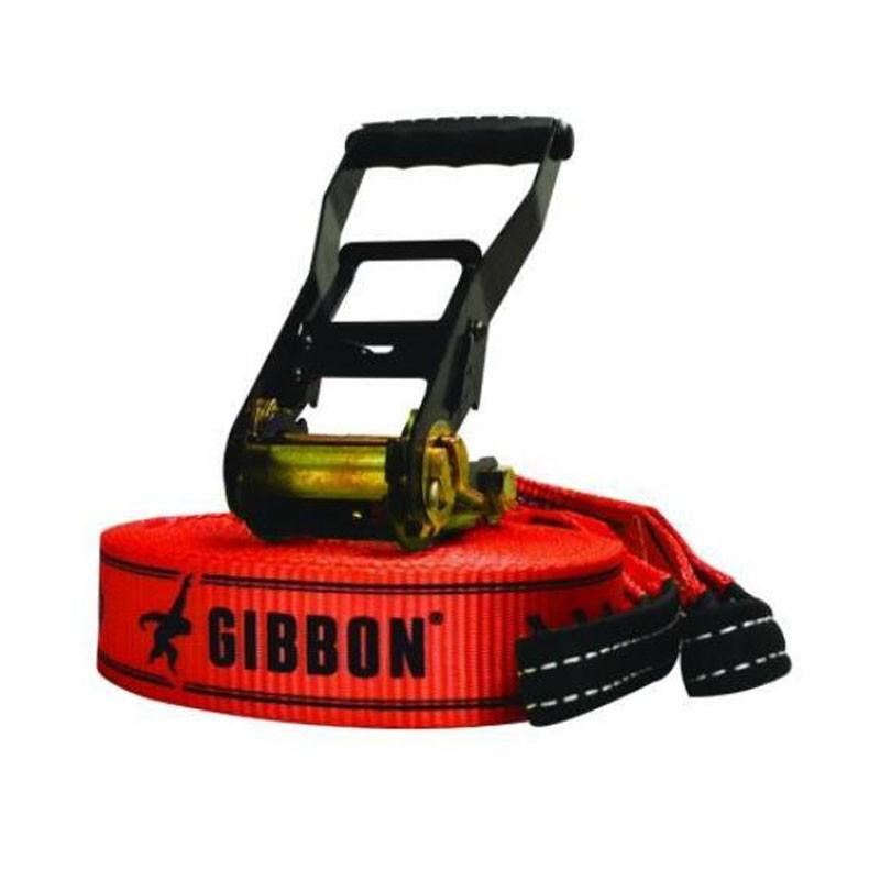 GIBBON RED CLASSIC LINE X13 15M-TREEPRO SET 25m レッド