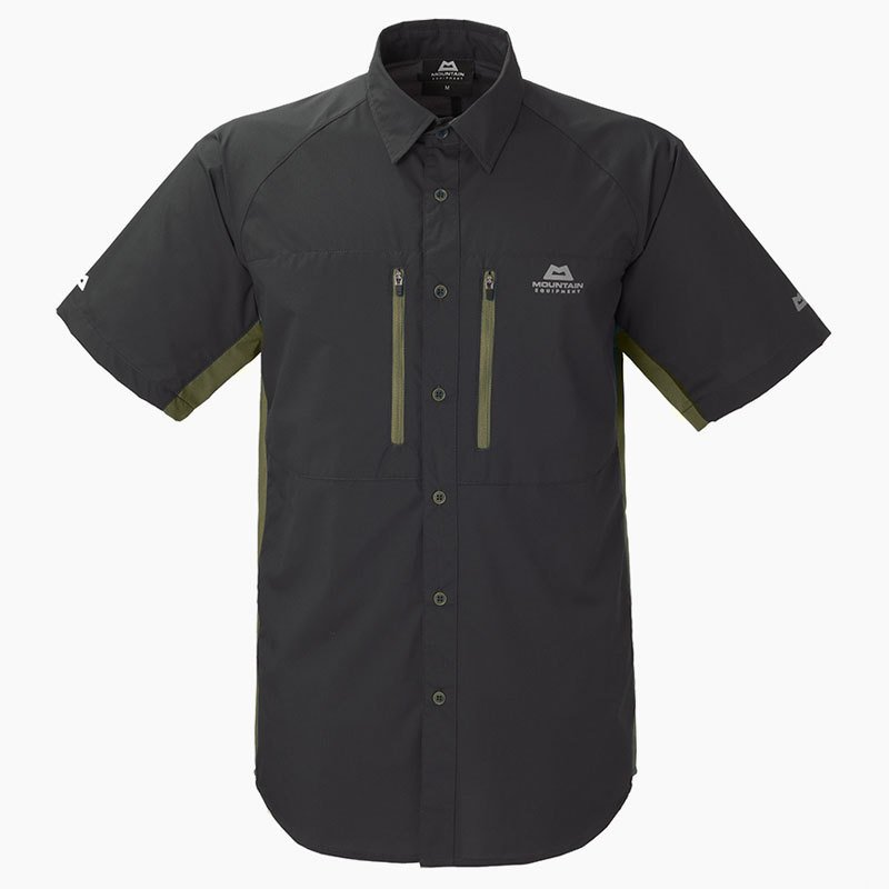 アウトドアシャツ MountainEquipment Equilibrium Shirt Men's XS アンスラサイト