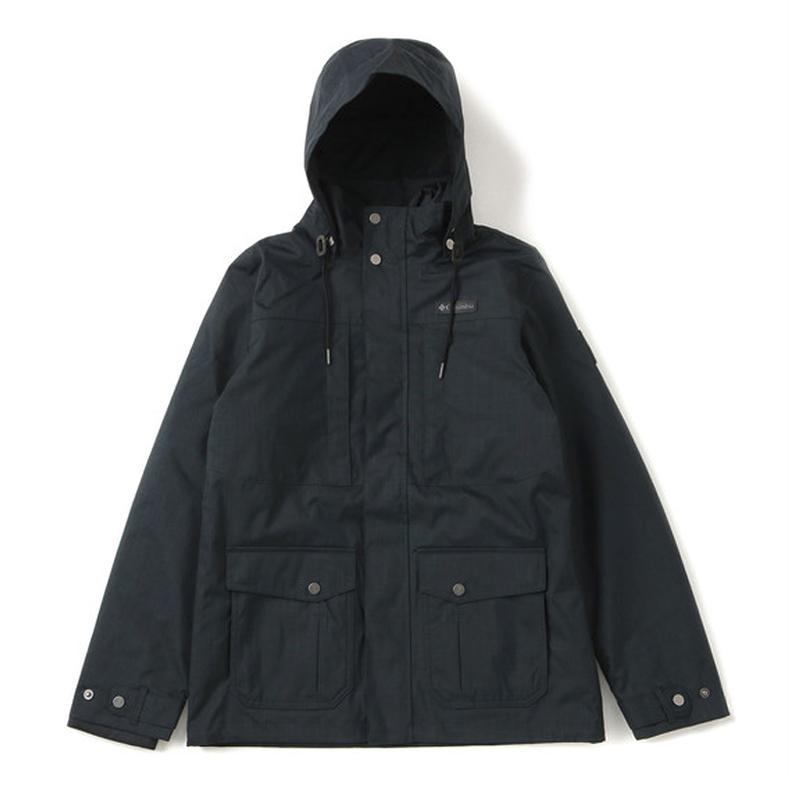 アウトドアジャケット コロンビア ホリゾンズ パイン インターチェンジ ジャケット Men's L 011(BLACK)