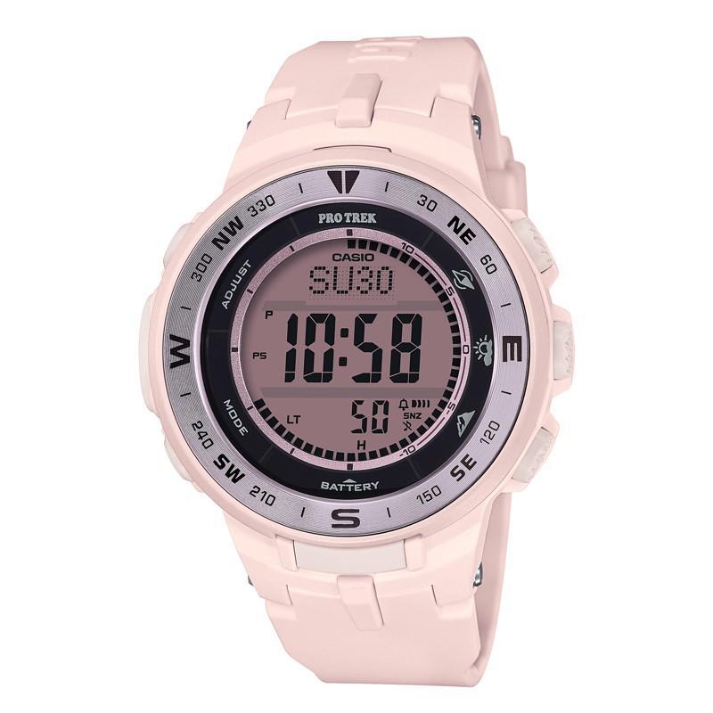 アウトドアウォッチ・時計 プロトレック 【国内正規品】PRG-330-4JF 10気圧防水 タフソーラー ピンク