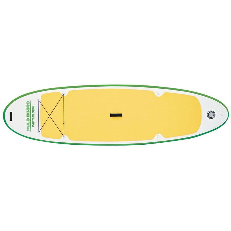 インフレータブルカヌー キャプテンスタッグ フラボード iSUPアロハ310 グリーン