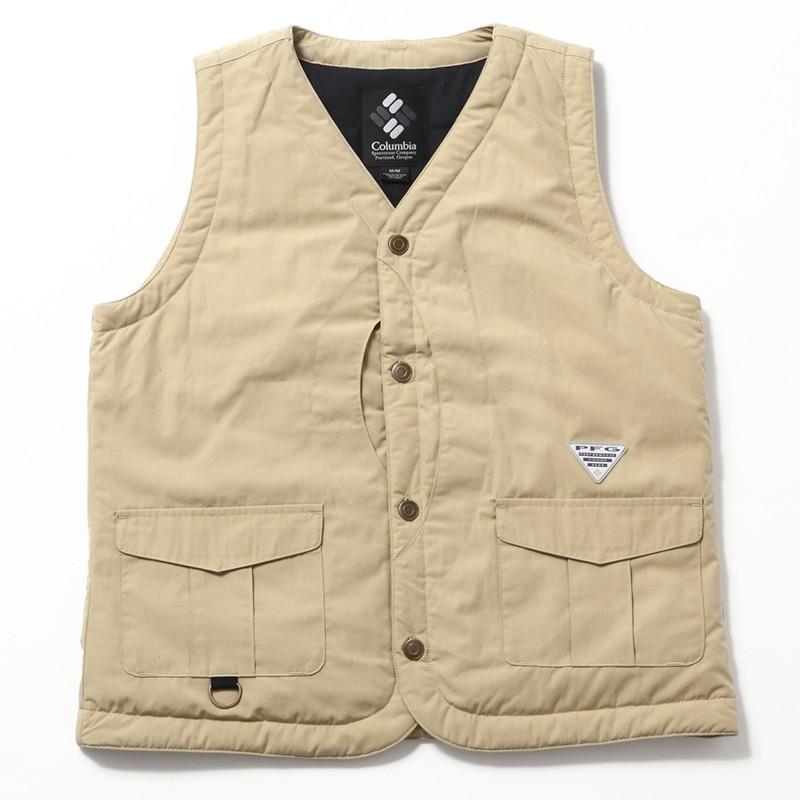 アウトドアベスト コロンビア Mather Crest Vest(マザー クレスト ベスト) Men's M 270(TWILL)