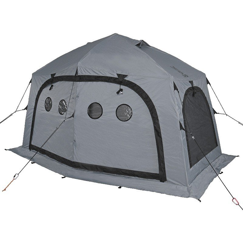 釣り用テント DOD サブマリンテント(ワンタッチ式ワカサギテント) L GY(グレー)