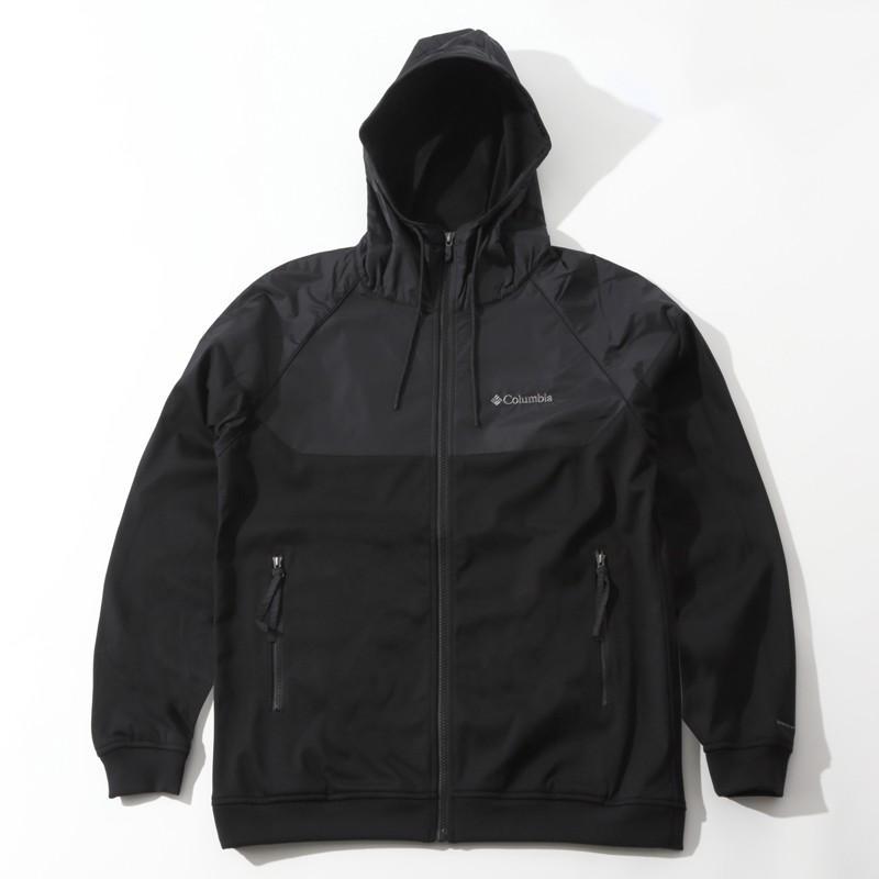 アウトドアシャツ コロンビア WILKINSON COVE HOODIE(ウィルキンソン コーブ フーディ) M 010(BLACK)