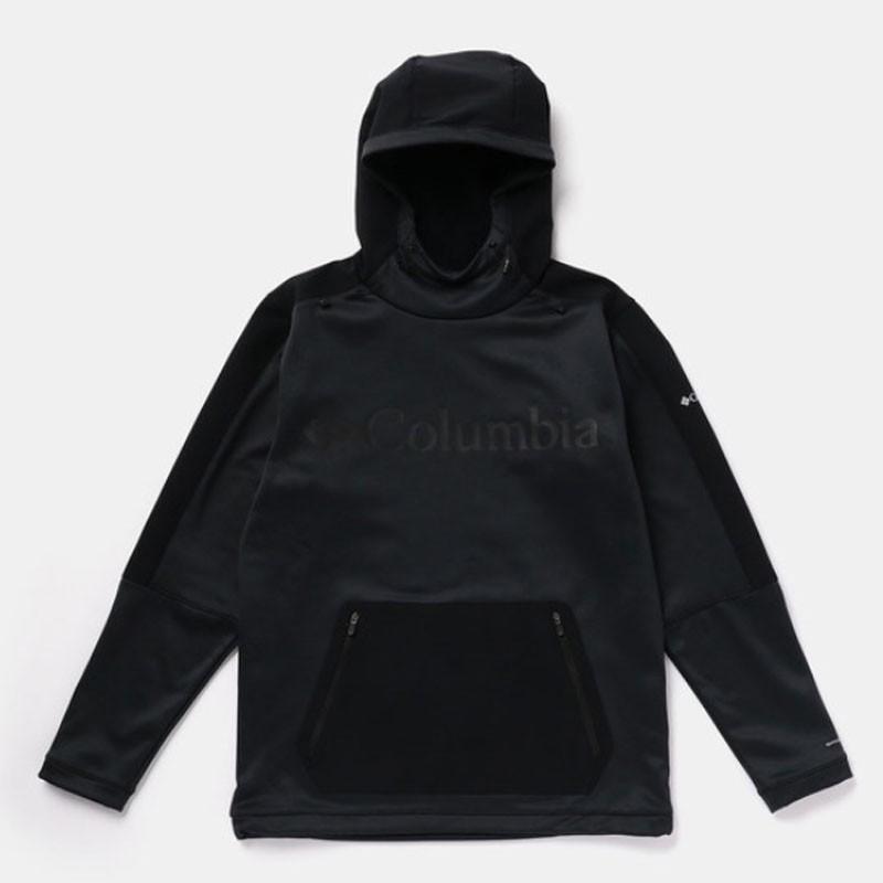 アウトドアシャツ コロンビア MAXTRAIL MIDLAYER TOP(マックストレイル ミッドレイヤー トップ) Men's L 010(BLACK)