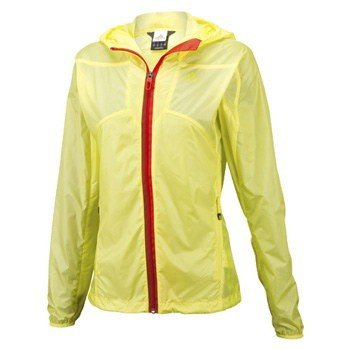 アウトドアジャケット アディダス TERREX Wind Jacket Women's M W39253(プライムイエローS12)