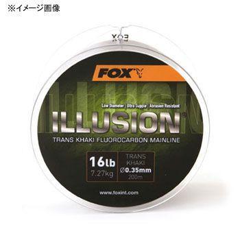 道糸 FOXINT イリュージョン トランズカーキ 600M 19lb
