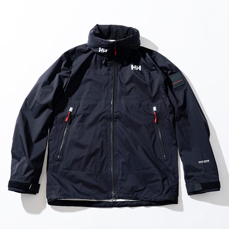 アウトドアジャケット ヘリーハンセン 21春夏 Alviss Light Jacket(アルヴィース ライト ジャケット)Men's L K(ブラック)
