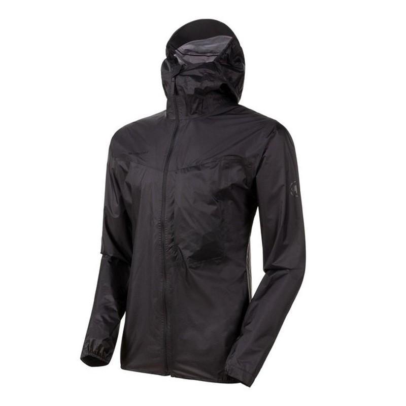 アウトドアジャケット マムート Kento Light HS Hooded Jacket AF Men's S 0001(black)