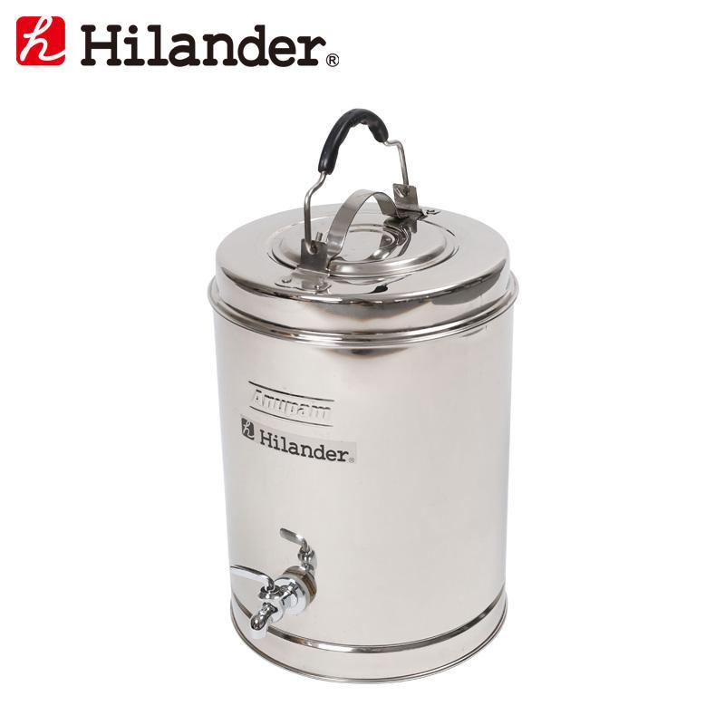 水筒·ボトル·ポリタンク ハイランダー ステンレスウォータージャグ 7.5L
