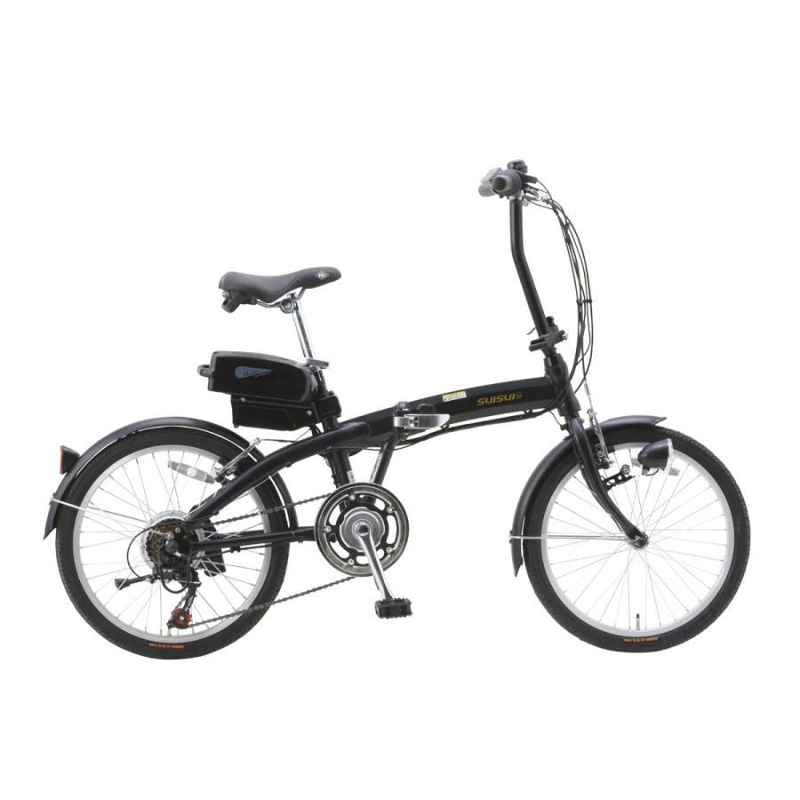 スイスイ 電動自転車 20インチ・折りたたみ式・シマノ製6段変速ギア・5.8A大容量バッテリー・アルミフレーム採用18.5kg 電動アシスト自転車 BM-A30|navibank|07