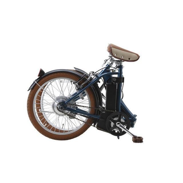 スイスイ 電動自転車 20インチ・折りたたみ式・変速ギア無し・5.8A大容量バッテリー・アルミフレーム採用18.5kg 電動アシスト自転車 BM-E50 navibank 02