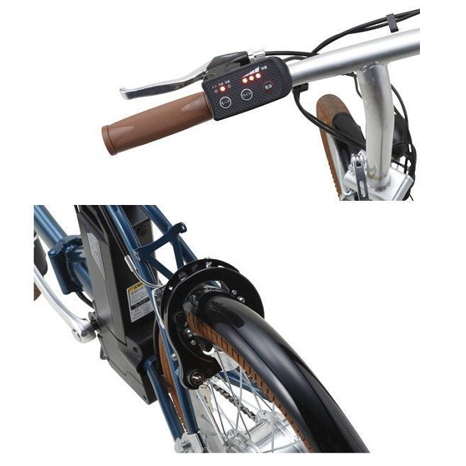 スイスイ 電動自転車 20インチ・折りたたみ式・変速ギア無し・5.8A大容量バッテリー・アルミフレーム採用18.5kg 電動アシスト自転車 BM-E50 navibank 03