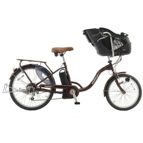 スイスイ 電動自転車 前20・後24インチ・チャイルドシートモデル・6段変速ギア搭載・大容量リチウムイオンバッテリー 電動アシスト自転車 KH-DCY07-CH|navibank|05