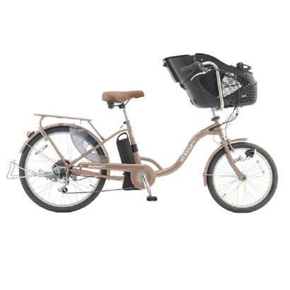スイスイ 電動自転車 前20・後24インチ・チャイルドシートモデル・6段変速ギア搭載・大容量リチウムイオンバッテリー 電動アシスト自転車 KH-DCY07-CH|navibank|08