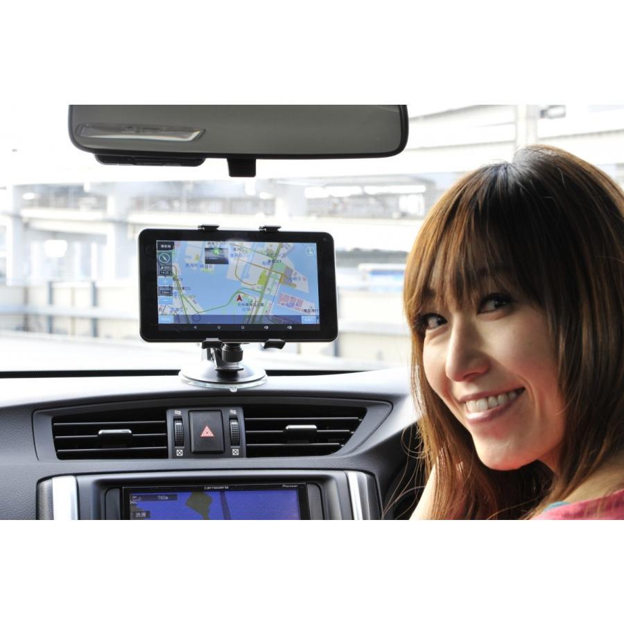 MOMOTARO ポータブルカーナビ ドライブレコーダー付き&渋滞情報表示機能有り 7インチAndroidタブレット MM-NAVI1000|navibank|02