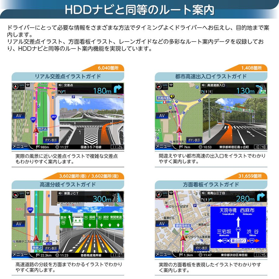 フルセグ ポータブルナビ 8インチ 16GB 2021年版 ゼンリン地図 詳細市街地図 VICS 渋滞対応 みちびき対応 バックカメラ対応 地デジ カーナビ RQ-A820PVF naviquest-yshop 04