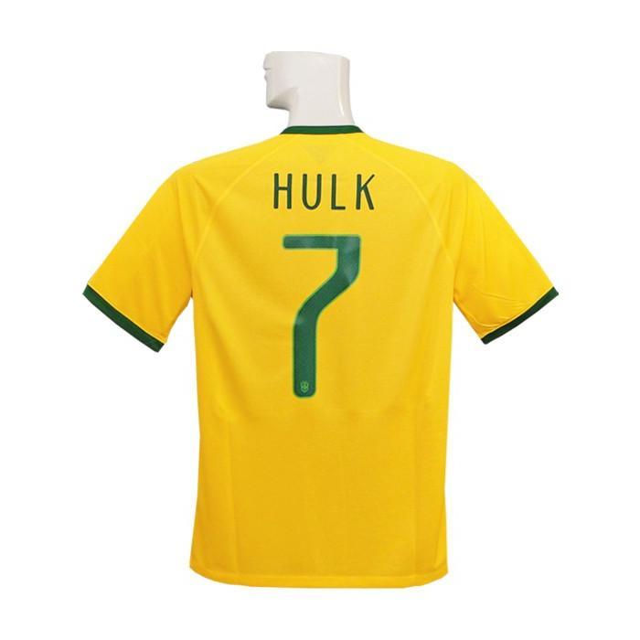 (ナイキ) NIKE/2014ブラジル代表/ホーム/半袖/フッキ/2014FIFAワールドカップ/ワールドカップバッジ付/フルマーキング仕様/575280-703