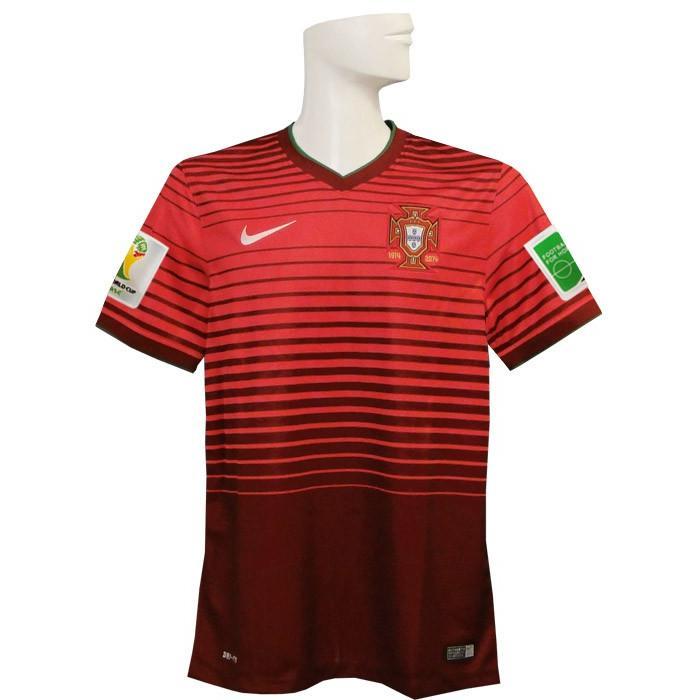 (ナイキ) NIKE/2014ポルトガル代表/ホーム/半袖/ワールドカップ/スリーブバッジ+FIFA FOOTBALL FOR HOPEバッジ付/577986-677