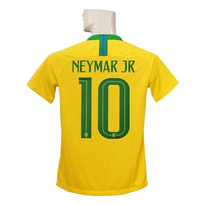 (ナイキ) NIKE/18/19ブラジル代表/ホーム/半袖/ネイマール/ジュニア用/893970-749