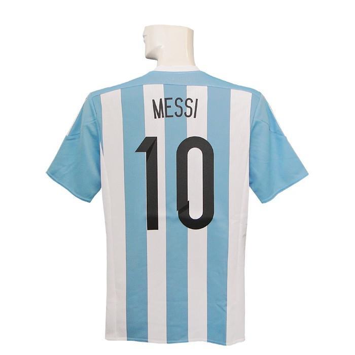 (アディダス) adidas/15/16アルゼンチン代表/ホーム/半袖/メッシ/APO04-AC0326
