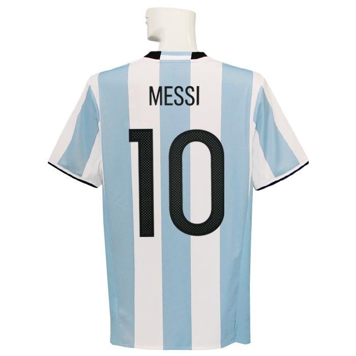 (アディダス) adidas/16/17アルゼンチン代表/ホーム/半袖/メッシ/コパアメリカセンテナリオ2016バッジ付/BCE71-AH5144