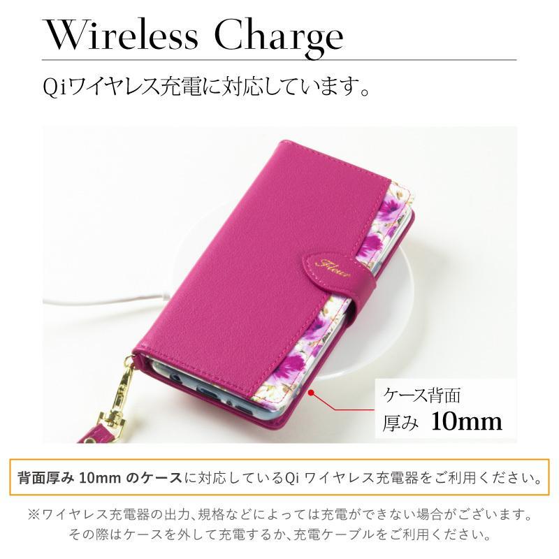 スマホケース 手帳型 多機種対応 マルチタイプ Xperia エクスペリア Galaxy ギャラクシー aquos アクオス iphone アイフォン fleur ndos 11