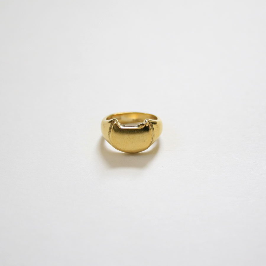 CAT SIGNET RING 真鍮キャットシグネットリング【kura】|neco-republic|02