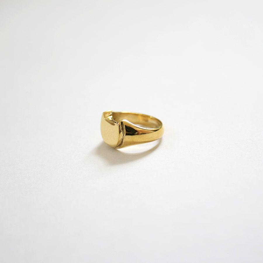 CAT SIGNET RING 真鍮キャットシグネットリング【kura】|neco-republic|04