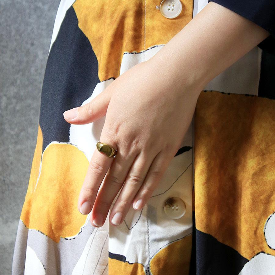 CAT SIGNET RING 真鍮キャットシグネットリング【kura】|neco-republic|09