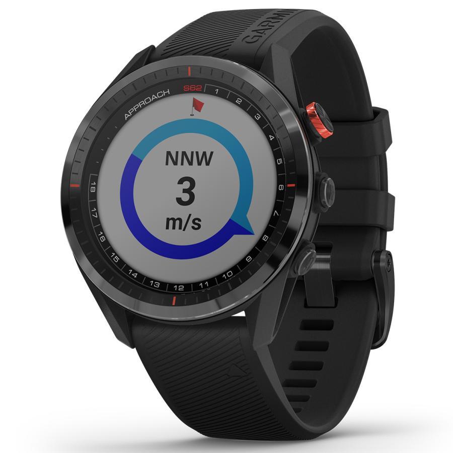 ガーミン GARMIN アプローチ S62 CT10セットモデル ゴルフ GPS スマートウォッチ ブラック 010-02200-22|neel2|11