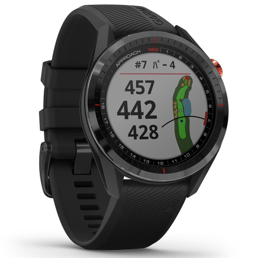 ガーミン GARMIN アプローチ S62 CT10セットモデル ゴルフ GPS スマートウォッチ ブラック 010-02200-22|neel2|13