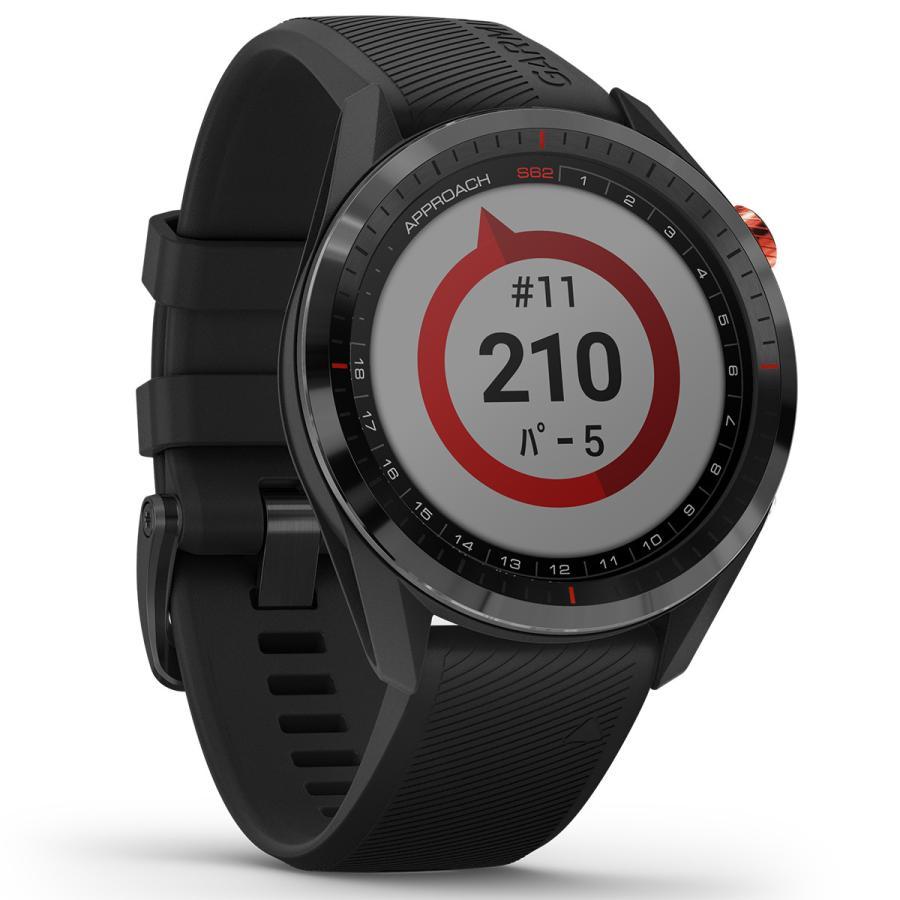 ガーミン GARMIN アプローチ S62 CT10セットモデル ゴルフ GPS スマートウォッチ ブラック 010-02200-22|neel2|15